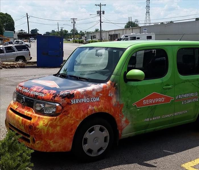 SERVPRO of Rutherford County has expanded our fleet