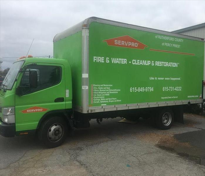 SERVPRO Of Rutherford County Expands Fleet